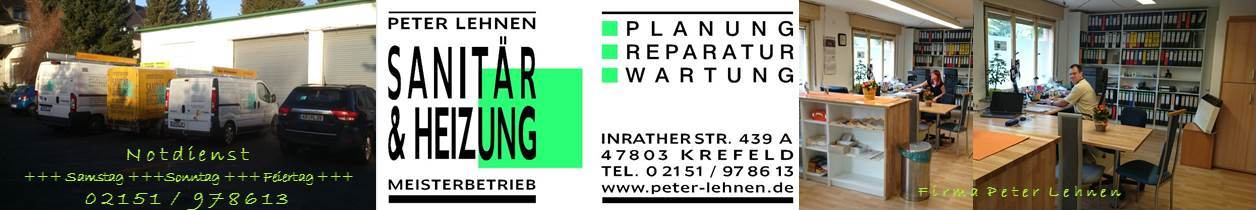 Peter Lehnen Sanitär & Heizung Meisterbetrieb